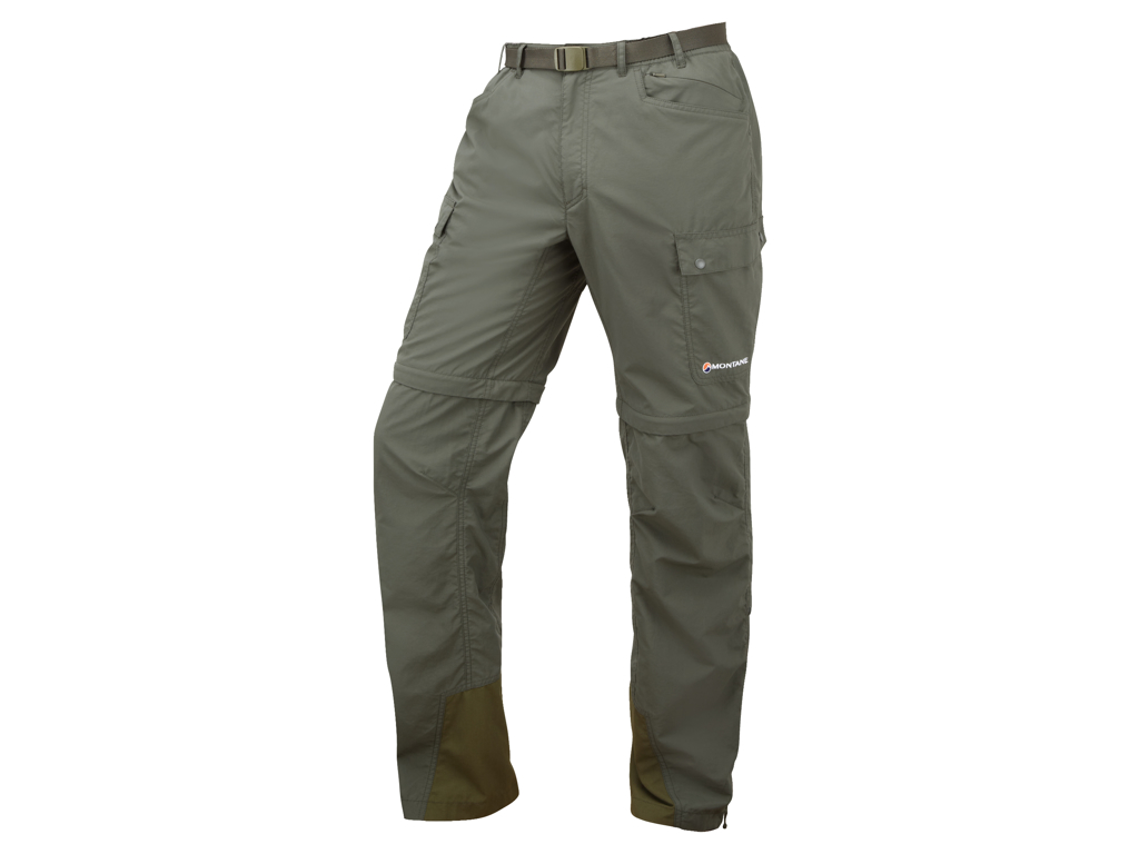 Image of   Montane Terra GT Converts - Zip-off bukser Mand - Army - Large