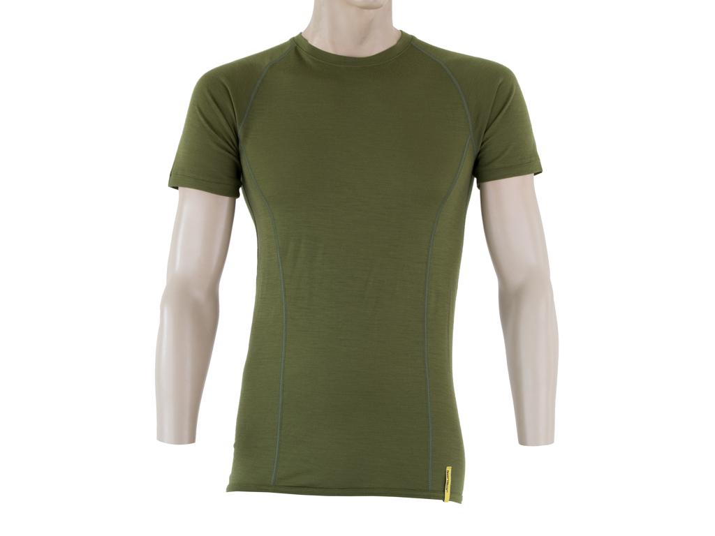 Sensor Merino Active Uld T shirt med korte ærmer Herre