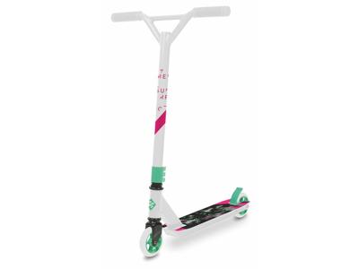 Streetsurfing Torpedo - Løbehjul til børn og begyndere - Hvid