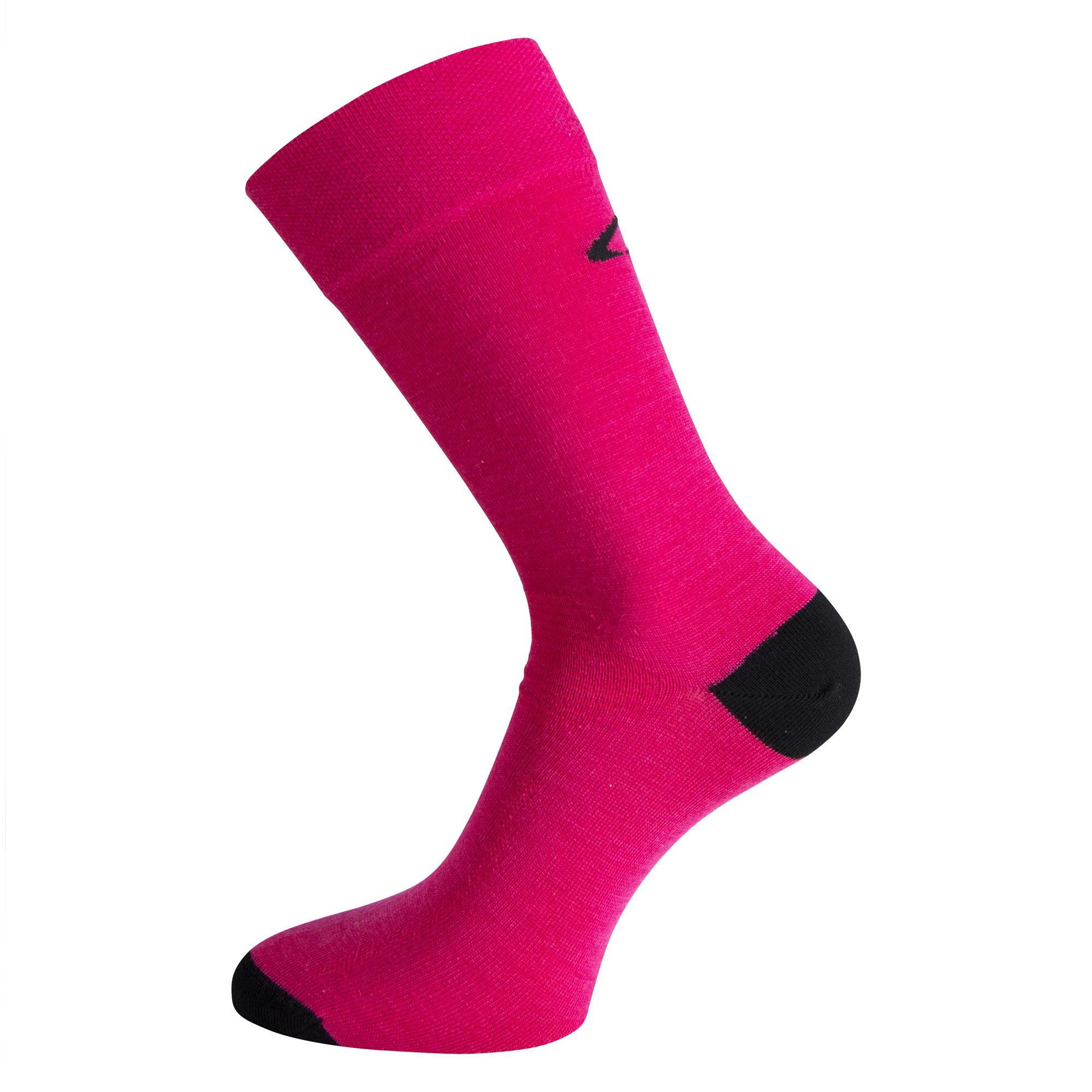 Ulvang Ultra - Let uldsok - Pink/Sort | Socks