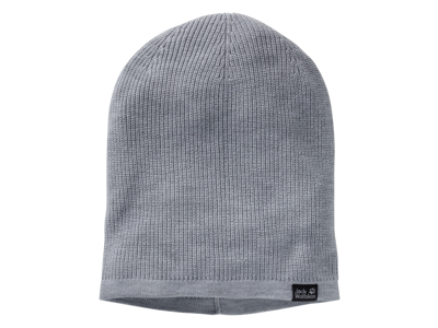 Jack Wolfskin Feel Good Beanie - Mössa - Grå - One Size