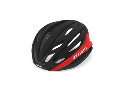 Giro Syntax Mips -  Cykelhjelm - Str. 51-55 cm - Mat Sort/Lys Rød