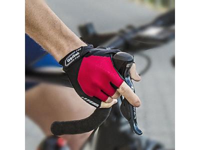 GripGrab ProGel 1001 - Cykelhandske kort - Rød