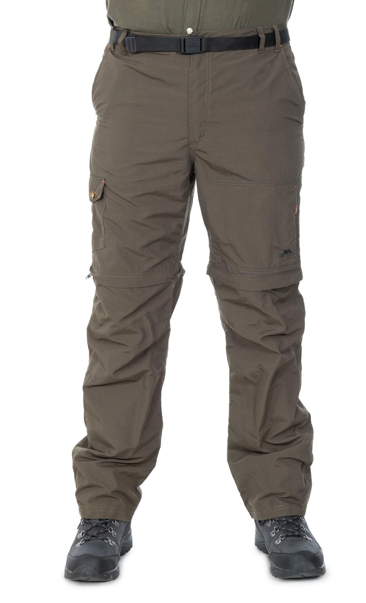 Trespass Rynne - Vandrebuks Zipp-off - Oliven | Trousers