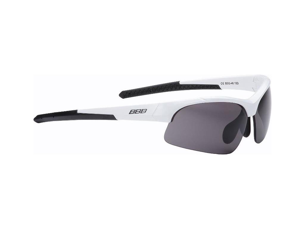 Image of   BBB Impress BSG-58 - Løbe- og cykelbrille - 3 sæt linser - Mathvid