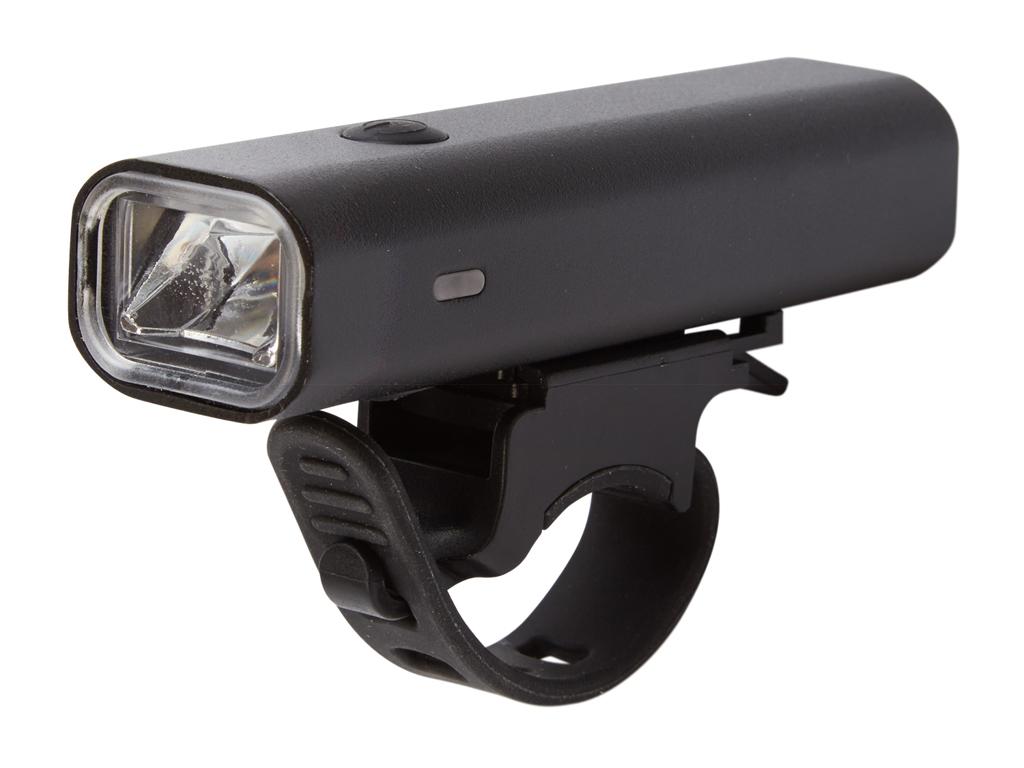 Atredo - Forlygte - 400 Lumen - USB opladelig - Sort thumbnail