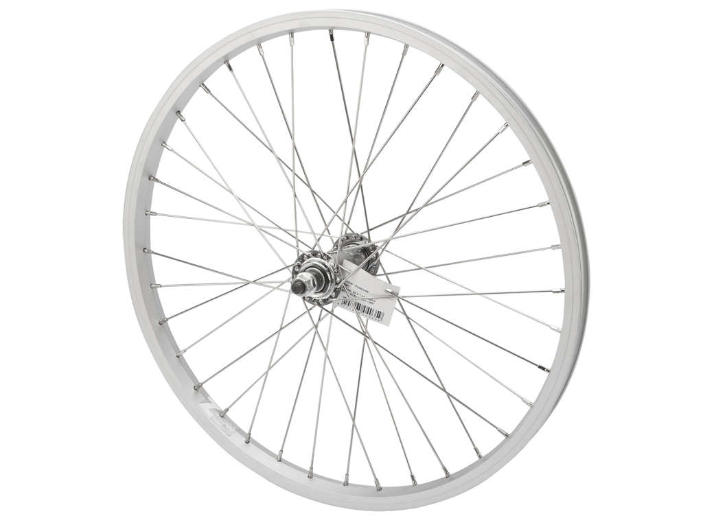 Forhjul 20 x 1,75 sølv fælg/sølv nav thumbnail