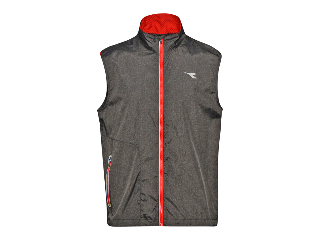 Image of   Diadora Vest - Løbevest Herre - Sort - Str. XL