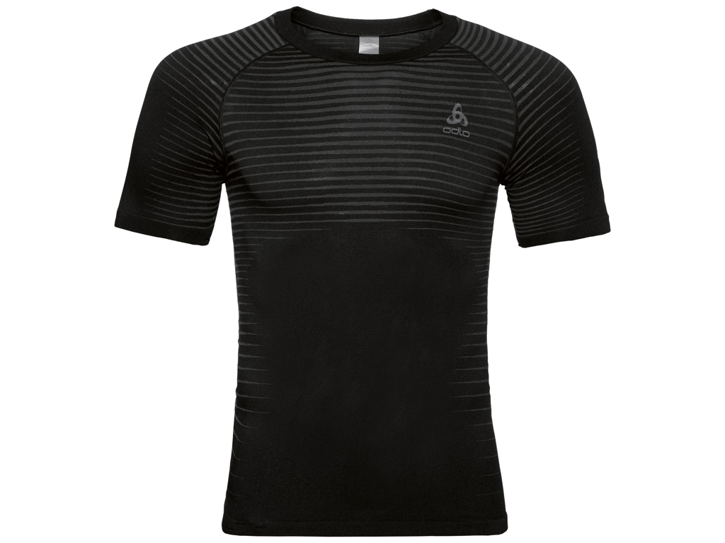 Image of   Odlo Performance Light - Sved t-shirt - Herre - Sort - Str. L