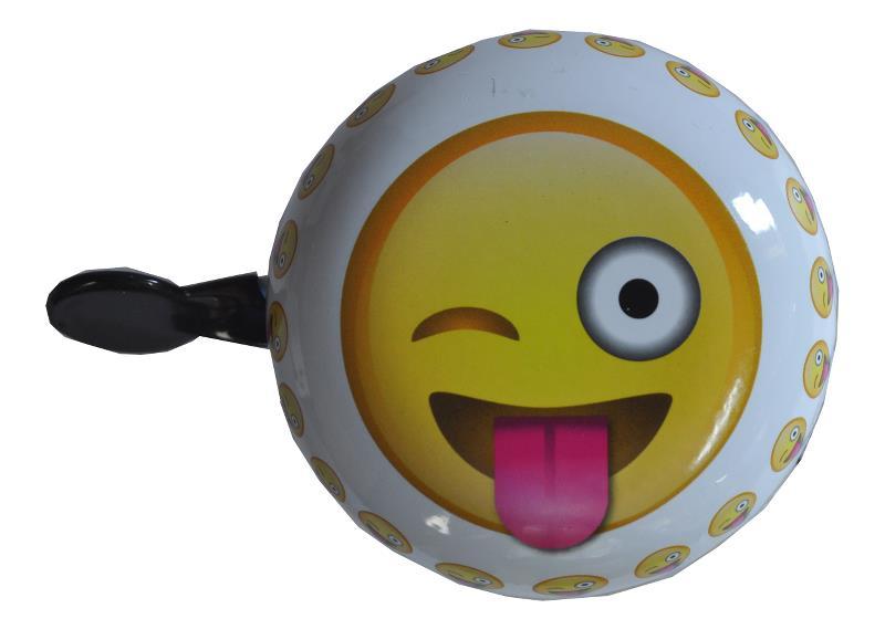 Emoticon crazy - Ringeklokke - Blinke smiley | Bells