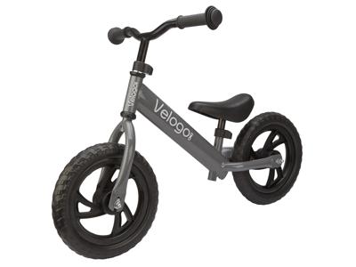 Velogo - Løbecykel - Grå