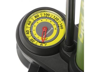 Blackburn Piston 1 - Fotpump - 9,7 BAR/140 PSI - Mattsvart/Vit
