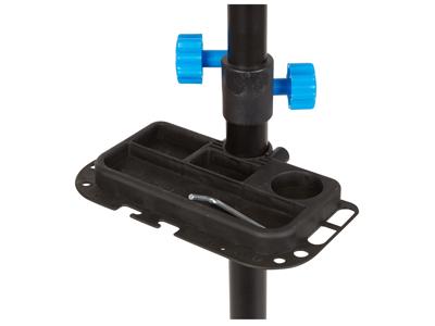 Atredo - Arbejdsstand - Stål - Med ABS nylon klampe - Sort