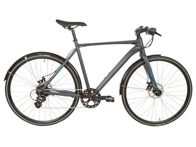 Micado Sport - City Bike - Herre - 8 gear - Skivebremser - Matgrå/blå - 60cm