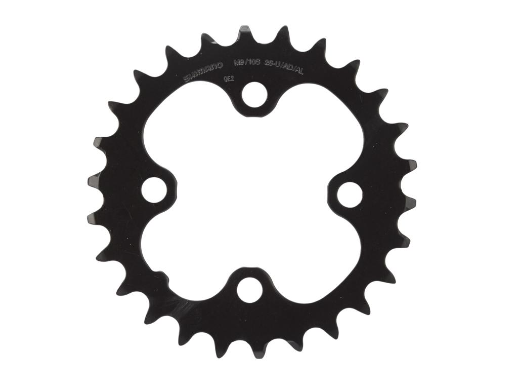 Shimano Deore klinge - 26 tands sort - Type FC-M590 - 9 gear