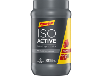 Powerbar IsoActive - Energidrik - Red fruit punch 600 gram
