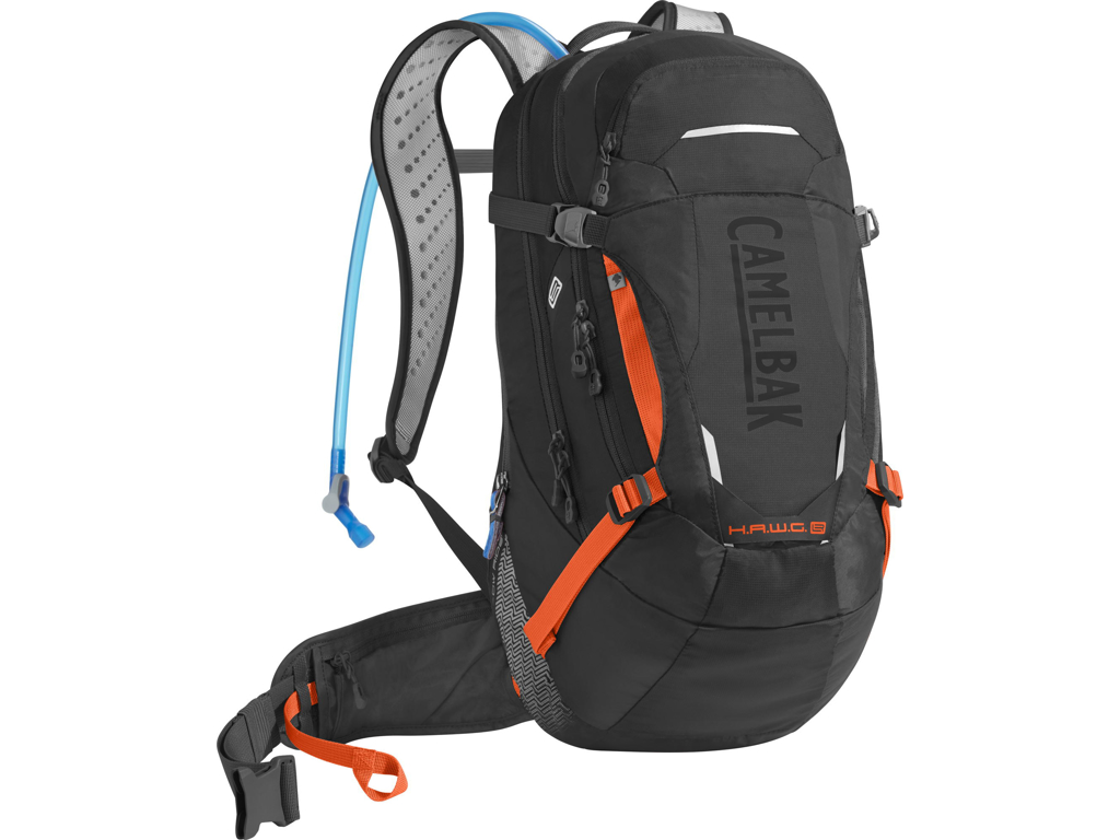 Image of   Camelbak H.A.W.G LR - Rygsæk 20L med 3 L vandreservior - Sort/Orange
