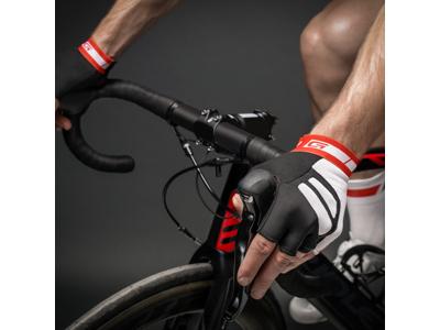 Cykelhandsker GripGrab WorldCup sort/hvid/rød