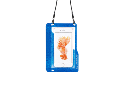 LifeVenture Hydroseal Phone Case Plus - Vandtæt pose til mobil - Blå