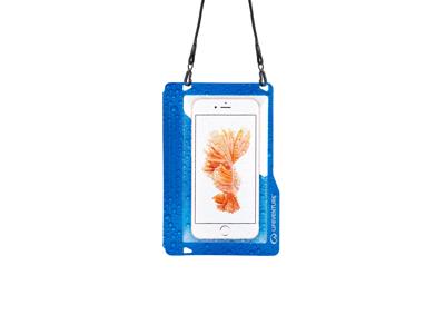 LifeVenture Hydroseal Phone Case Plus - Vattentät påse till mobil - Blå