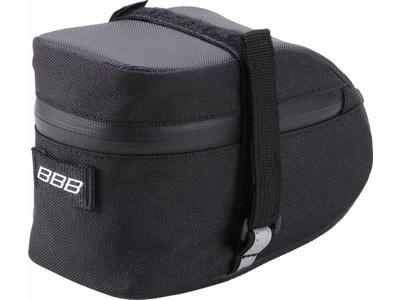 BBB - EasyPack M - Sadeltaske med velcro - Vandtæt - Sort