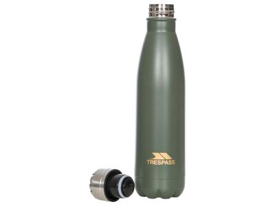 Trespass Caddo - Aluminiums Termoflaske - 500ml - Oliven