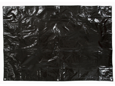 Trespass Walter - Ground sheet - Presenning - Sort - 1,8 x 1,2 meter