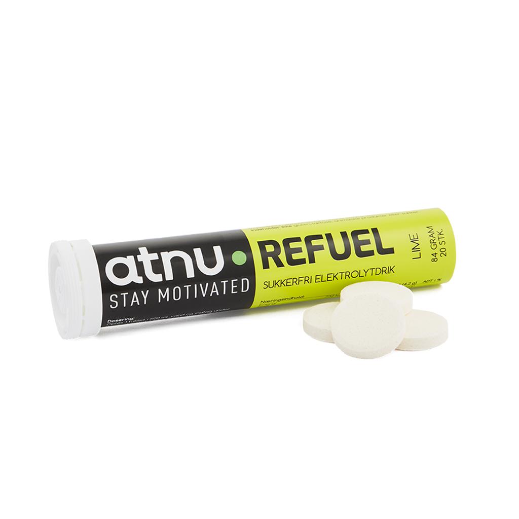 Atnu Refuel Elektrolyttabs - Lime - 20 tabs | Tabs
