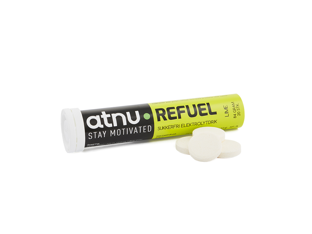 Image of Atnu Refuel Elektrolyttabs - Lime - 20 tabs