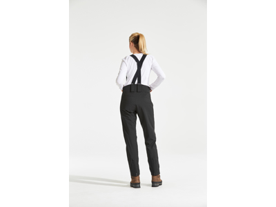 Didriksons Alta Womens Pants - Vandtæt damebukser m. for - Sort
