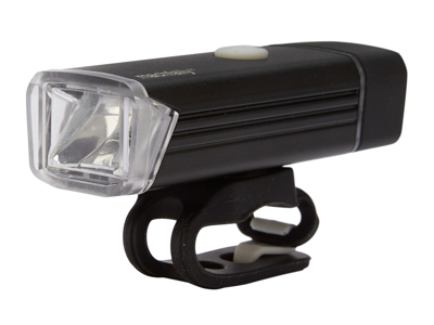 Machfally - Forlygte - 180 Lumen - USB opladelig - Sort