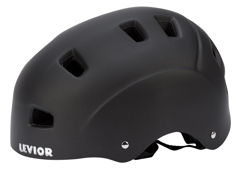Levior cykel- og skaterhjelm 5Forty - Mat sort | Helmets