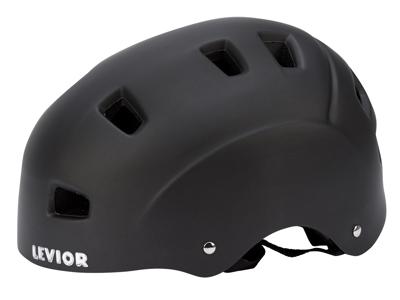 Levior cykel- og skaterhjelm 5Forty - Mat sort