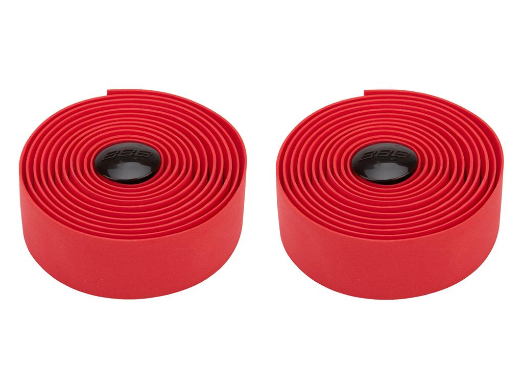 Styrbånd BBB syntetisk kork rød thumbnail