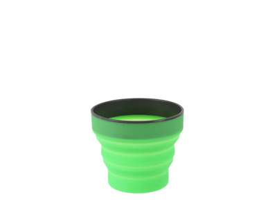 LifeVenture Ellipse Collapsible Cup - Silikon - Grön