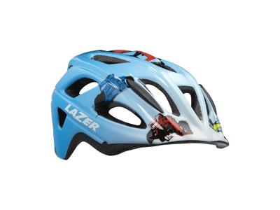 Lazer P'Nut - Cykelhjelm Barn - Str. 46-50 cm - Blå racer boy