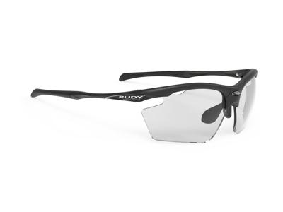 Rudy Project Agon - Løbe- og cykelbrille - Impactx Fotokromisk 2 sort - Mat sort