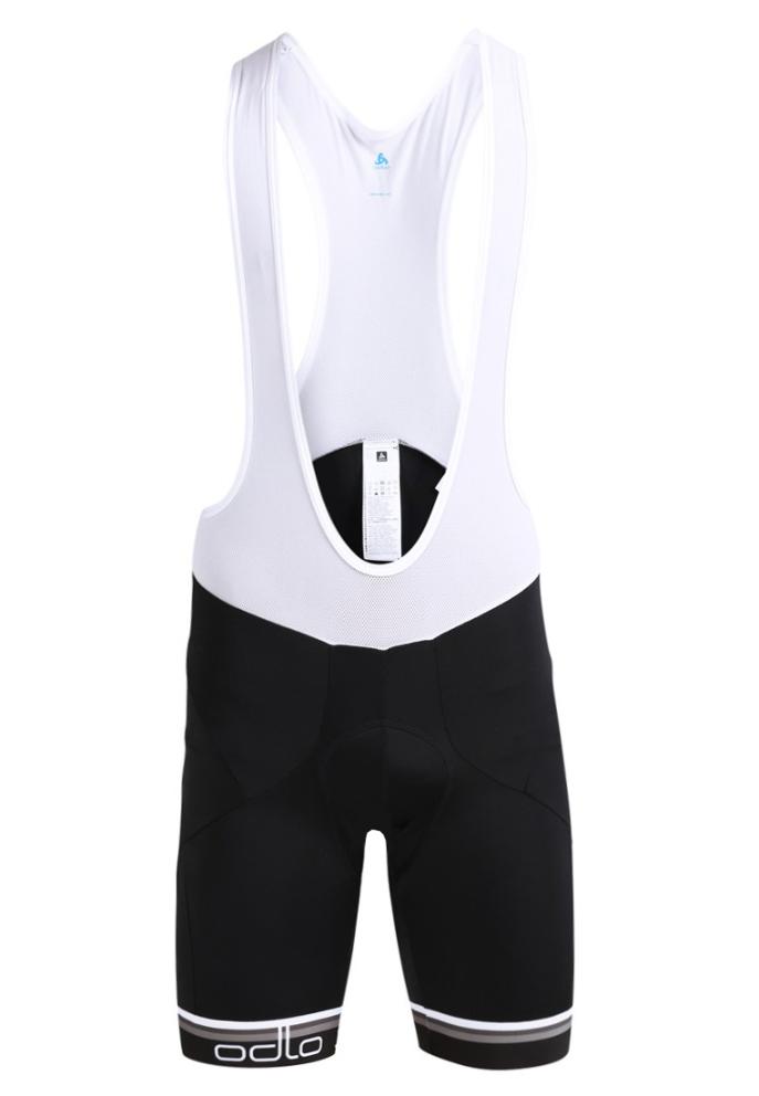 Odlo cykelbukser suspenders Flash X - Sort med pude | Trousers