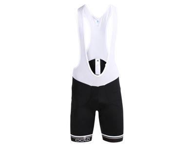 Odlo cykelshorts suspenders Flash X - Sort med pude - Str. S