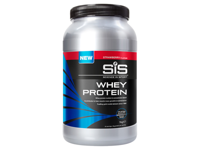 SIS Whey Protein - Jordbær - 1 kg