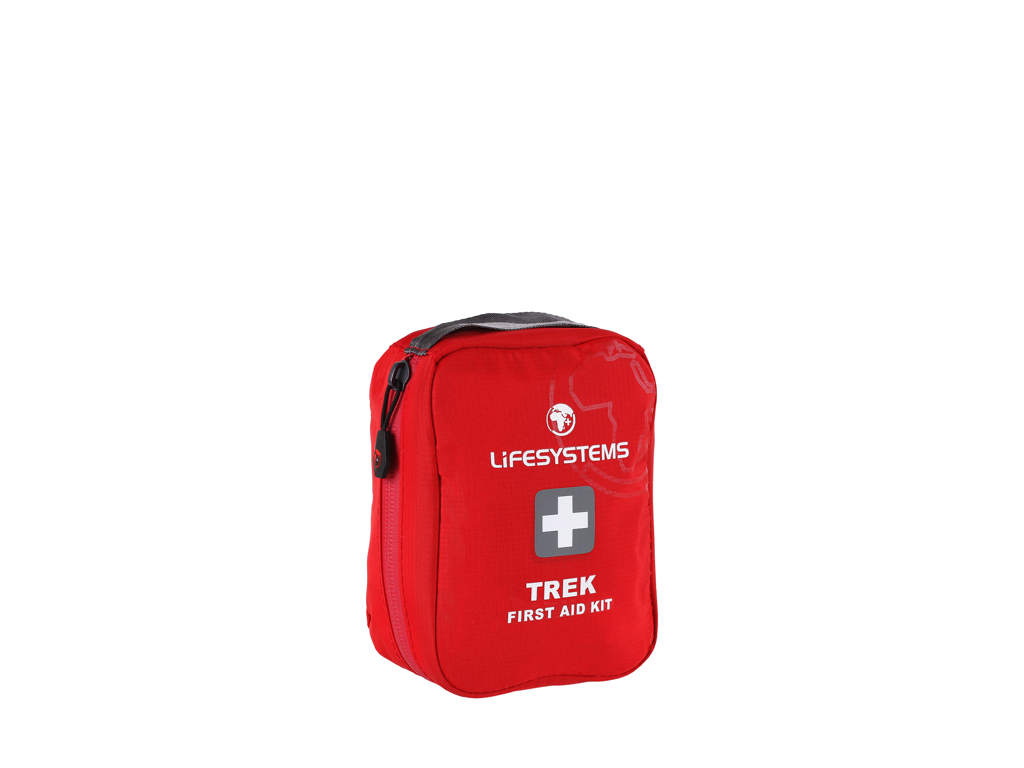 Image of   LifeSystems Trek First Aid Kit - Førstehjælpskit - Rød