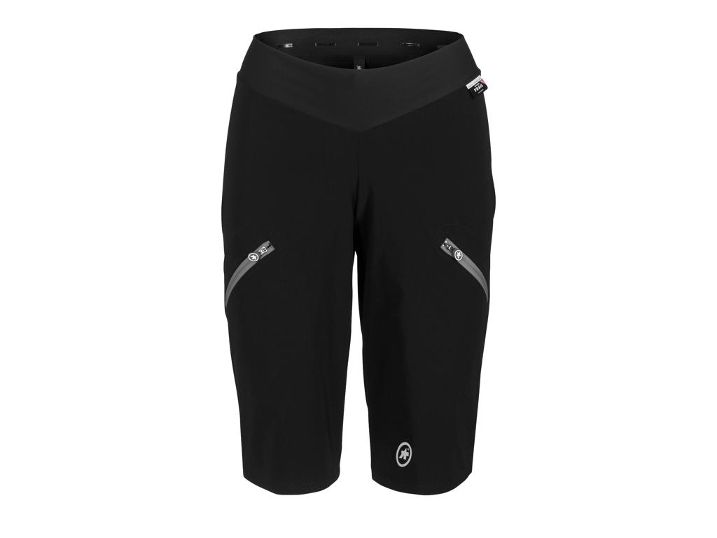 Assos Trail Womens Cargo Shorts - MTB Cykelshorts - Dame - Sort - Str. S thumbnail
