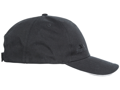 Trespass Carrigan - Baseball Cap - Unisize - Svart