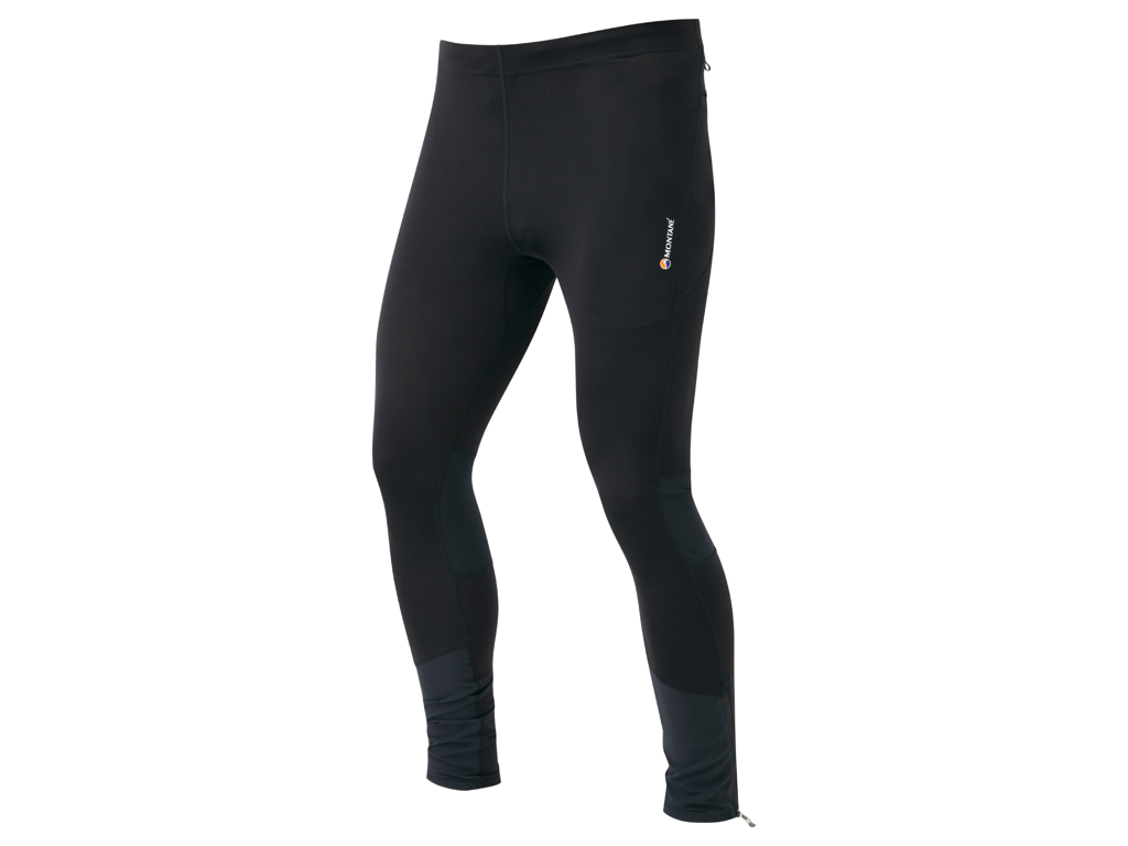 Montane Trail Series Long Tights - Løbetights - Mand - Sort - Str. L thumbnail