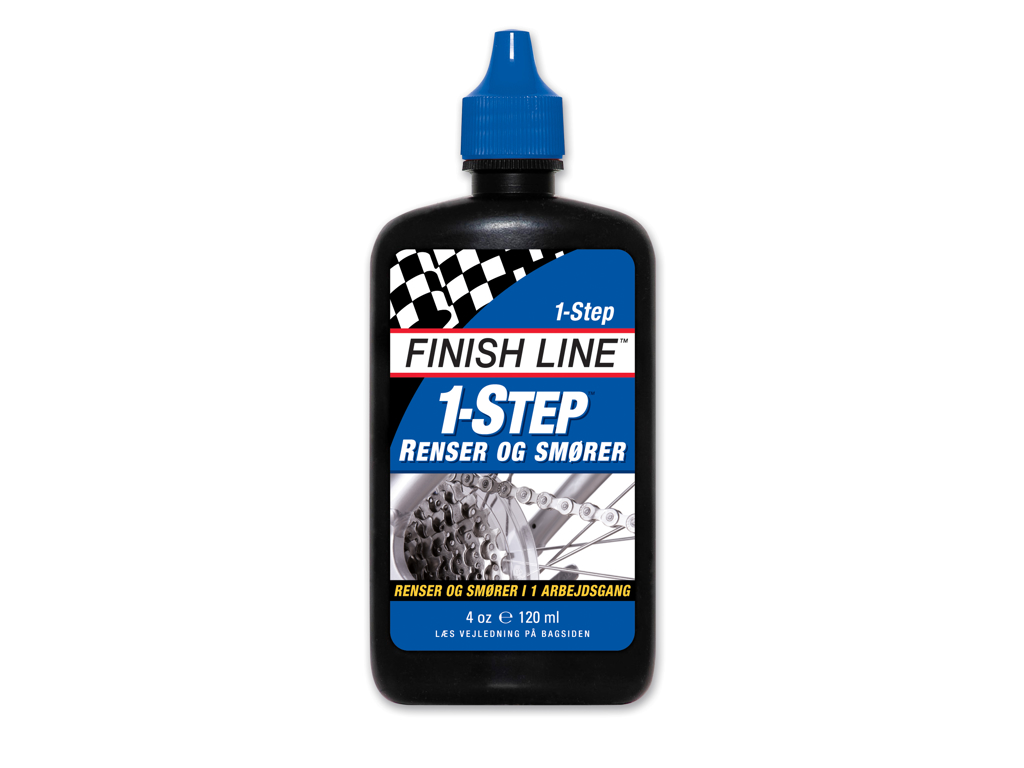 Olie Finish Line 1 Step 120ml drypflaske blå thumbnail