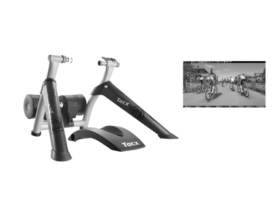 Tacx Bushido Smart hometrainer - Incl. Tacx Upgrade til Bushido Smart hometrainer