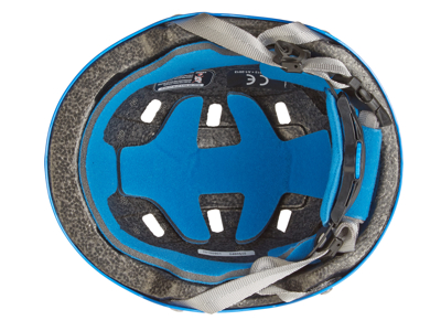Limar 306 - Cykelhjelm til børn - Str. 50-54 cm - Blå haj