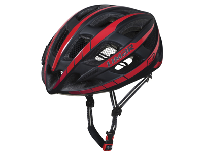 Limar Lux - Cykelhjelm - Matsort/rød