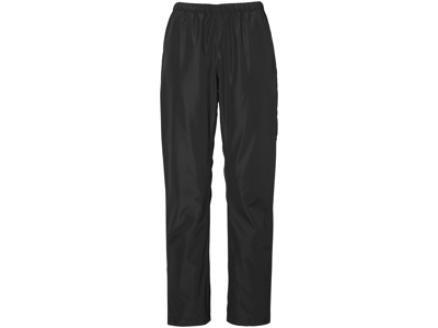 Didriksons Grand Womens Pants - Dame regnbukser - Sort