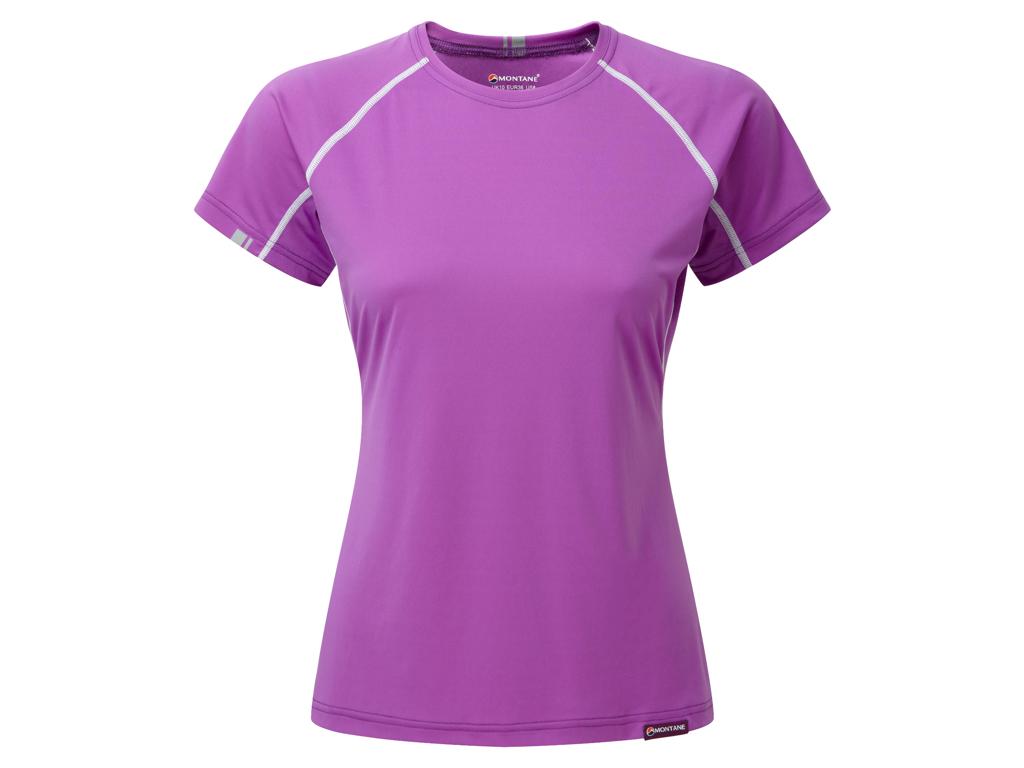 Montane Womens Sonic T-Shirt - Vandrer T-Shirt Dame - Lilla - 38 thumbnail